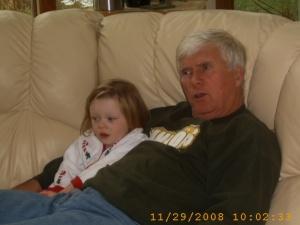 Wordless Wednesday – Grandpa's Little Girl