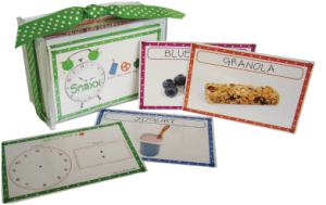 Fun and Creative Recipe Box Teaches Your Kids About Healthy Snacking