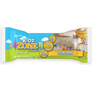 Kidz ZonePerfect™ Yellow Cupcake Nutrition Bar