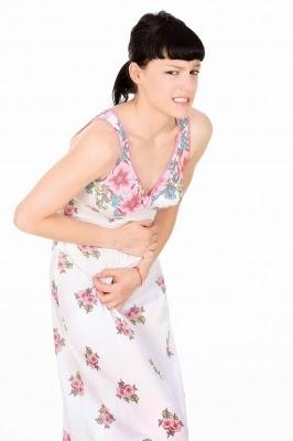 Woman Stomach Ache