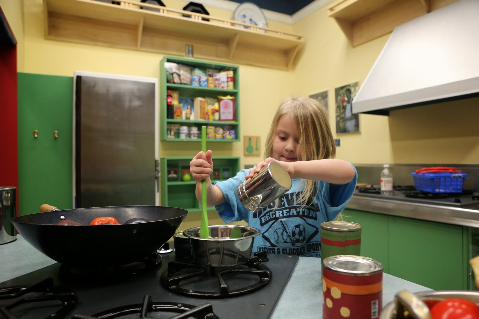 Kids in the Kitchen: Preparing Healthy Meals Together