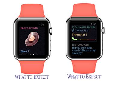 What do Expect Watch App