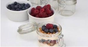 BioHarvest's Yogurt Parfait